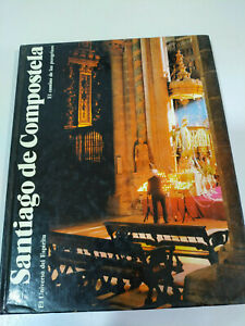 Santiago-de-Compostela-Camino-de-Peregrinos-Orbis-1985-Tapa-Dura-Espanol