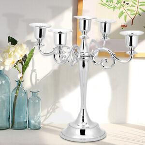 Vintage Candle Holder Candlestick Dining Table Centerpiece Candelabra Party Uk Ebay