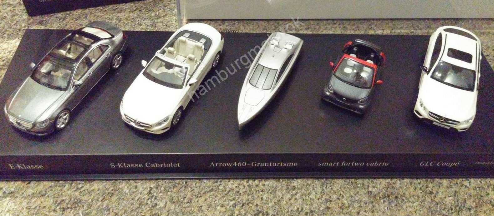 Set Mercedes 1 43 2016 w213 a217 a453 c253 MINIMAX KYOSHO NOREV ARROW