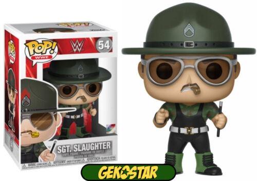 VINILE Il sergente MACELLAZIONE-WWE Funko Pop