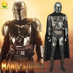 The Mandalorian Cosplay Costume Halloween Superhero ...