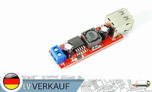 Dual-5V-USB-DC-7V-36V-nach-5V-3A-Step-Down-Spannungswandler-fur-Arduino