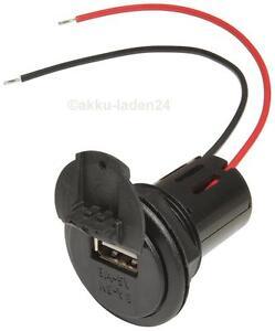 Ambitieux Usb 12v/3a Chargeur Prise-installation Powerdose Pour Voiture Auto 12v Et 24v-afficher Le Titre D'origine Blanc De Jade