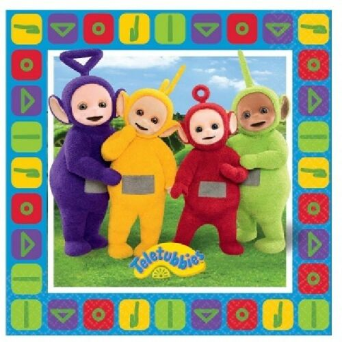 Teletubbies Children Partyware Tableware Banner Masks Balloons Party Bags