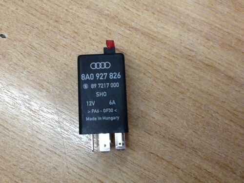 8A0927826,GENUINE AUDI DOUBLE RELAY FOR ABS SYSTEM,80,90,100,200 UR QUATTRO,COUP