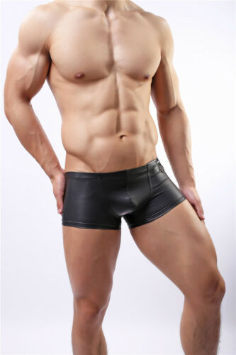 Men/'s Underwear Black Tank Top T-shirt Vest Briefs Jockstrap Thong Boxer Panties