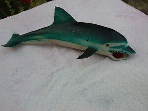 RUBBER-SQUEEZE-SHARK-JAWS-MADE-IN-HONG-KONG-8-1-2-039-039-LONG