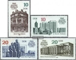 DDR-3075-3078-kompl-Ausgabe-gestempelt-1987-750-Jahre-Berlin