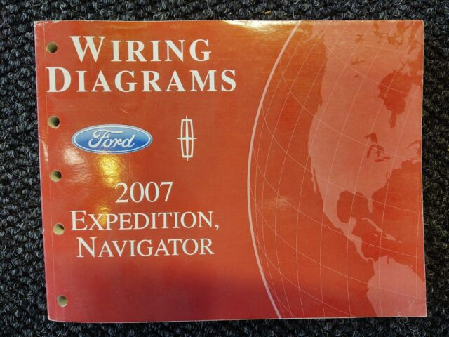 2007 Ford Expedition Navigator Service Department