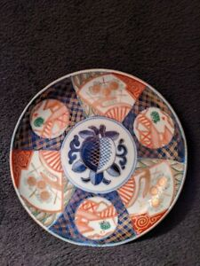 Antique-1868-1912-Japanese-Imari-Meiji-Period-Bowl-19th-Century-Hand-Painted