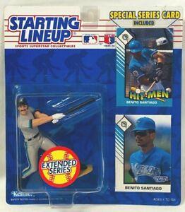 ⚾️ 1993 STARTING LINEUP - SLU MLB - BENITO SANTIAGO - FLORIDA MARLINS - EXTENDED