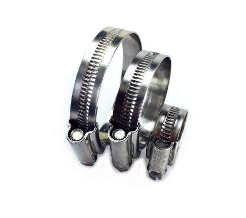 JCS® Stainless Steel Hose Clips Pipe Clamps Marine Grade Hi-Grip jcs hi grip