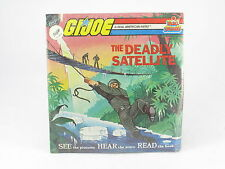 GI Joe Deadly Satellite MOSC New DBR 207 Kid Stuff Read Along Book & Record