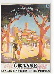 CP Poster Chemins Iron P. L.M.Grasse Edit Nugeron R32 n1
