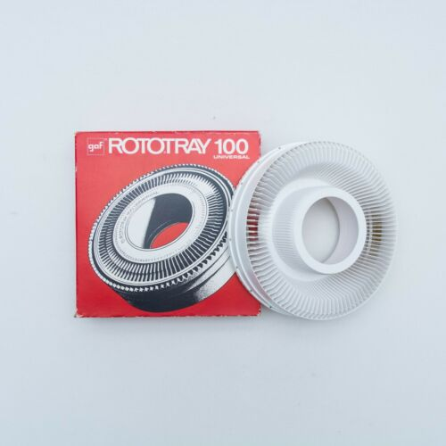 GAF Rototray 100 Universal Carousel Projector Slide Holder