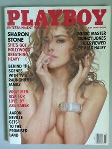 Vintage-Playboy-July-1990-Sharon-Stone-Pictorial-Magazine-Original