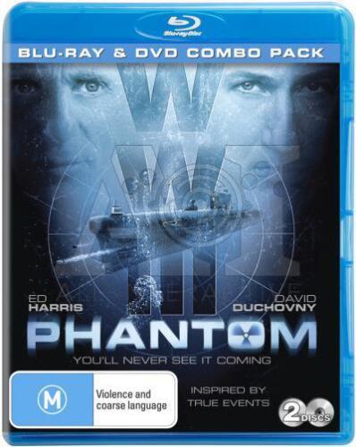 1 of 1 - Phantom (DVD + Blu-ray, 2013) // 2 Discs