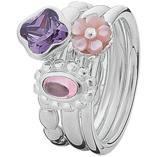 Neu Spinning Jewelry 925 Silber Ring 160-00 Mehrere Ringe Kombinierbar 16000