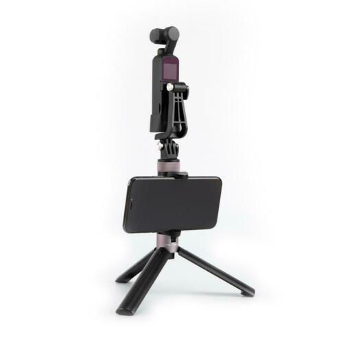 "PGYTECH Osmo Pocket Universal Mount Kit Stand L Bracket with 1//4/"" port Pole"