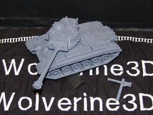 Flames Of War USA M26 Pershing Tank 1/100 15mm FREE SHIPPING