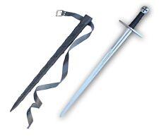 Knights Templar Sword Full Functional Battle Ready Tempered Steel S-1073-GA2