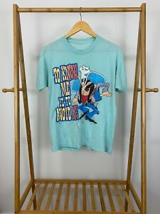 VTG-80s-To-Know-Me-Is-To-Avoid-Me-Cowboy-Sun-Sportswear-Thin-T-Shirt-Size-M