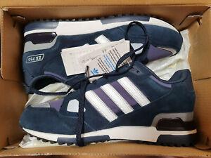 Détails sur Adidas Originals Zx 750 Homme Running Baskets Bleu Marine afficher le titre d'origine