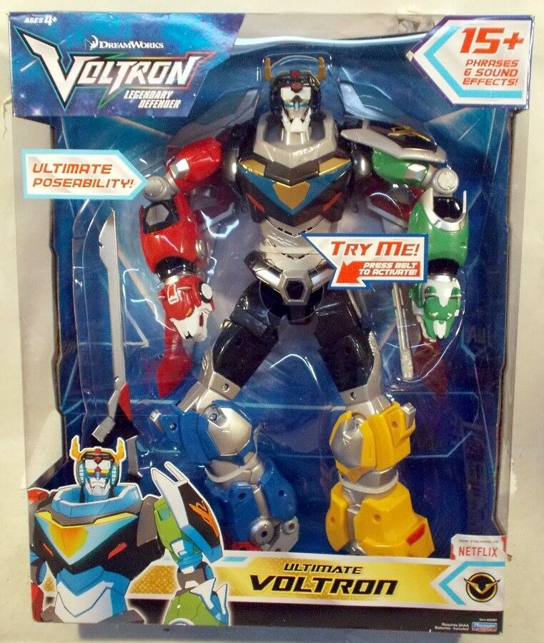 Dreamworks Voltron legendario defensor Ultimate Voltron luces y sonidos (Menta en caja sellada)