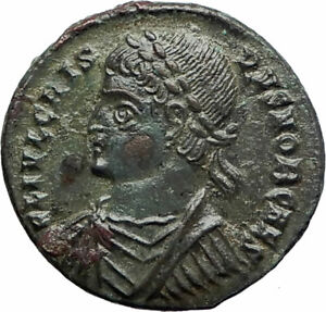 CRISPUS-Constantine-the-Great-son-324AD-Ancient-Roman-Coin-Camp-Gate-i76170