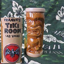 "Frankie's Tiki Room Tiki Farm Polynesian Leprechaun Menehune Mini 5"" Bacardi Mug"