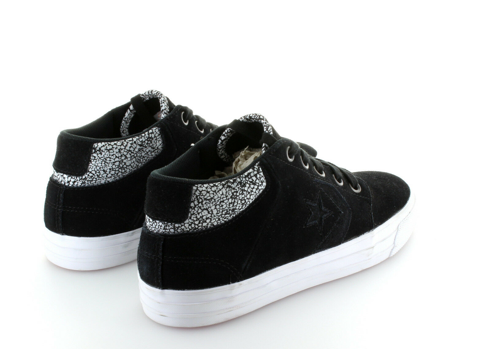 Converse Cons Tre Star Mid Negro Suede in Gr. 42,5 42,5 42,5 US 9 dd8f45
