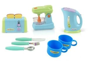 Http Www Ebay Com Itm Kitchen Appliances Toy For Kids Mixer Toaster Kettle Cups Utensils Set New 272170472035
