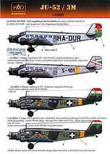 Hungarian Aero Decals 1/144 JUNKERS Ju-52/3M Hungarian Transport