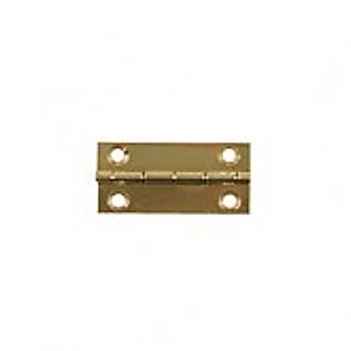 DOLL HOUSE accessorio. COPPIA di ottone con testa CERNIERE 25mm x 12mm