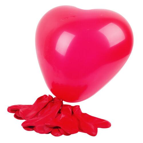 10 Pcs Latex Heart Shaped Multicolor Balloons Birthday Wedding Party Decoration