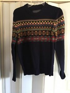 A-Nice-H-amp-M-Mens-Wool-Sweater-Size-S-with-free-shipping
