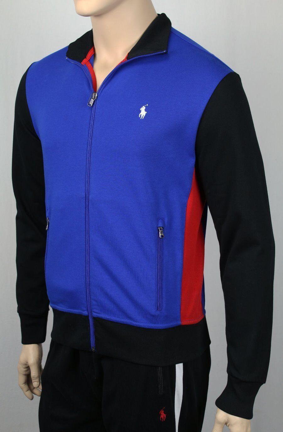 Polo Ralph Lauren Performance Königsblau Reißverschluss schweißhemd Track Jacken