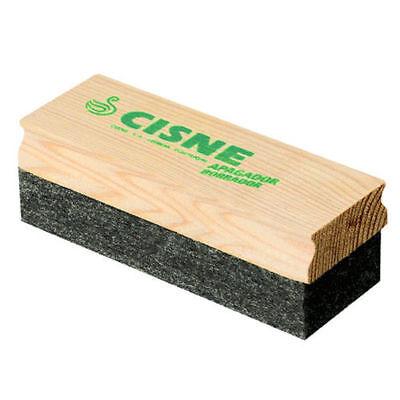 """Office School Wooden Shell Blackboard Cleaner Board Eraser *Size 5/"""" x 2/"""""""