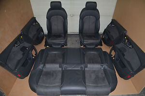Audi-A7-Lederausstattung-Leather-Schwarz-S-Line-Sportsitze-Leather-Seats