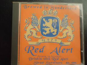 Red-Alert-drinking-with-brewed-in-Sunderland-CD-1994-punk-rare