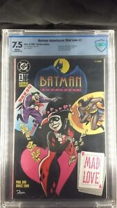 Batman-Adventures-Mad-Love-1-German-Edition-CBCS-Graded-7-5-WHITE-Pages