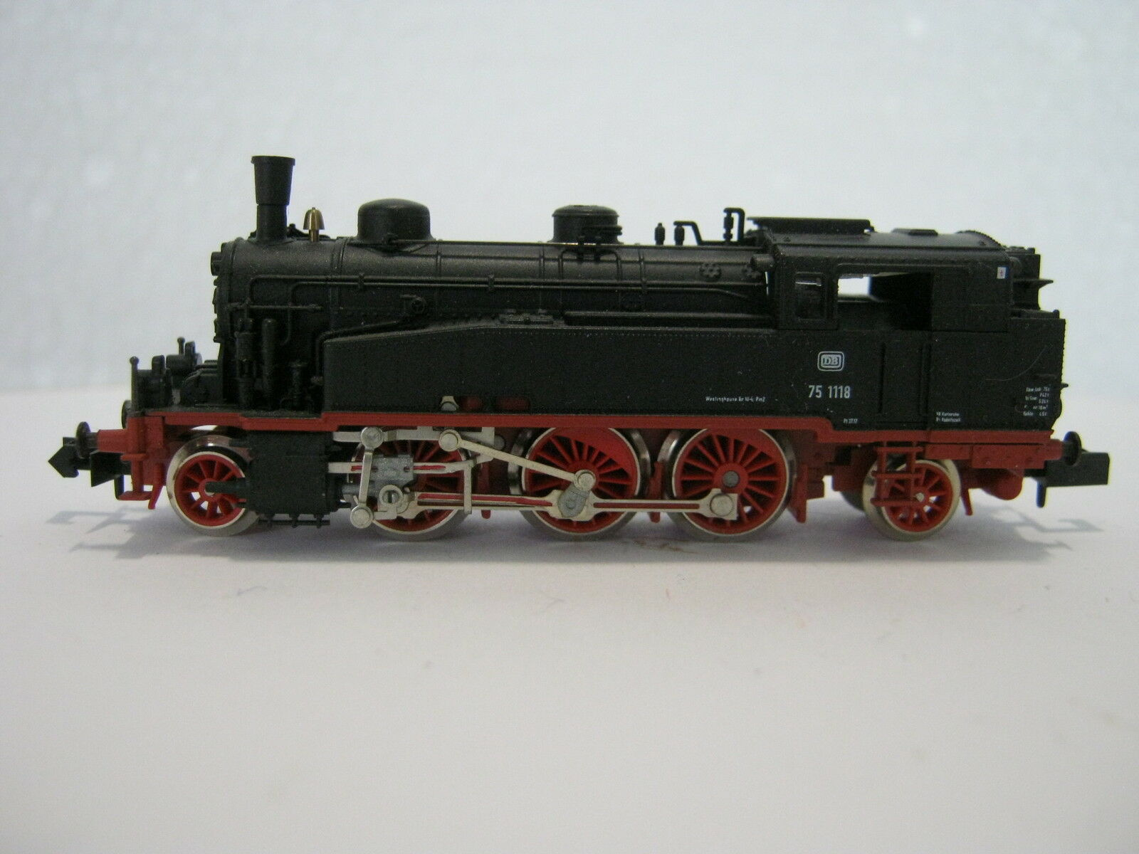 Arnold N 2212 Dampf Lok BR 75 1118 DB (RG RS 056-62S4 27)