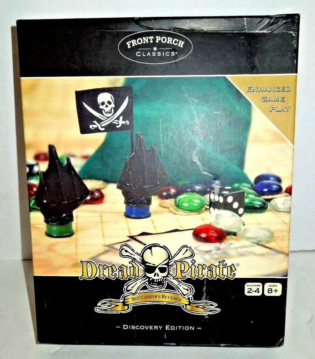 Front Porch Dread Pirate Discovery Edition Buccaneers Revenge Board Game