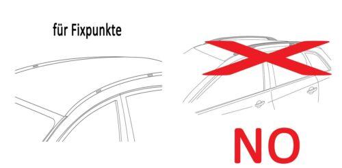 Dachbox VDPFL320L+Dachträger Tema für Mercedes CKlasse W204 07-13 Stahl
