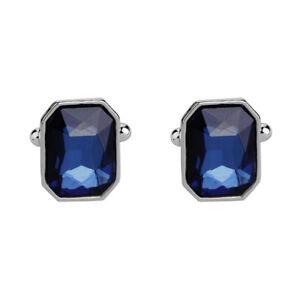 1-Pair-Fashion-Diamond-Colorful-Glass-Cufflinks-Cuff-Links-Womens-Mens-Dres-A7G0