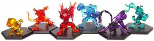 Powered Up Version Digimon Set of 6 Japanese Fighting PVC Figures