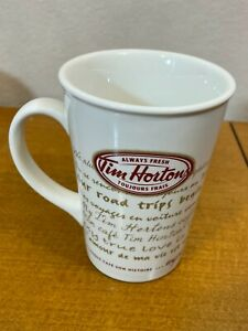 Tim Hortons #009 Limited Edition Coffee Mug Road Trip Every Cup Tells A Story