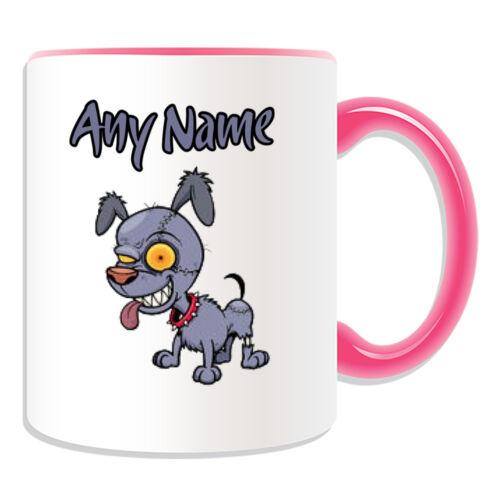 Personalised Gift Zombie Dog Mug Money Box Cup Walking Dead Devil Pets Voodoo