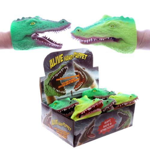 FUN KIDS Marionnette Crocodile Head Jouet Cadeau Nouveauté Stocking Filler Argent De poche