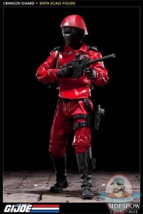 1 6 Scale GI Joe Crimson Guard Exclusive Action Figure by Sideshow Collectibles